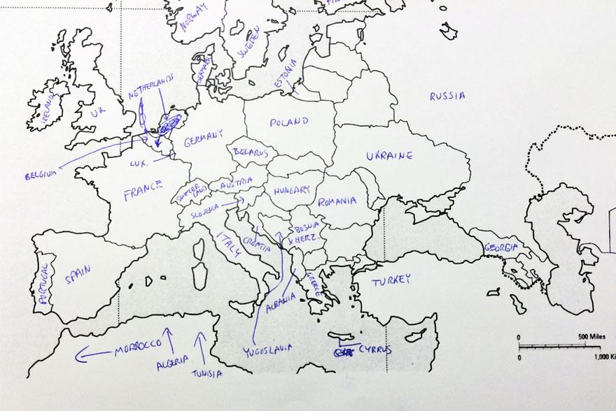 Bulgaria on the map Blazing Bulgaria
