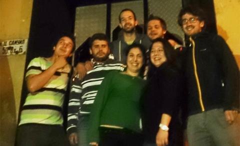 The Dextrophobia team.